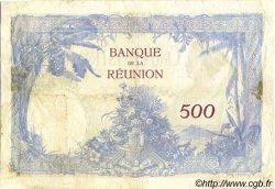 500 Francs ÎLE DE LA RÉUNION  1944 P.25 TB+