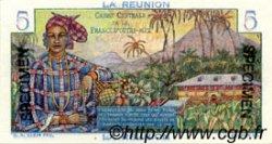 5 Francs Bougainville ÎLE DE LA RÉUNION  1946 P.41s NEUF