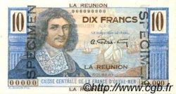 10 Francs Colbert ÎLE DE LA RÉUNION  1946 P.42s pr.NEUF