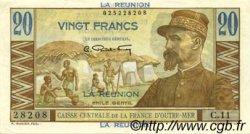 20 Francs ÎLE DE LA RÉUNION  1946 P.43a SUP+