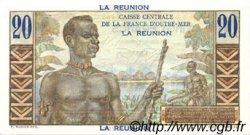 20 Francs ÎLE DE LA RÉUNION  1946 P.43s NEUF