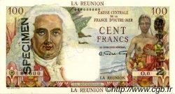 100 Francs La Bourdonnais ÎLE DE LA RÉUNION  1946 P.45s NEUF