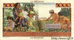 5000 Francs Schoelcher ÎLE DE LA RÉUNION  1946 P.48 pr.SUP