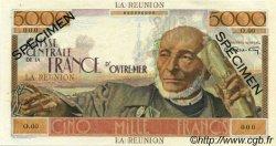 5000 Francs Schoelcher ÎLE DE LA RÉUNION  1946 P.48s pr.SPL