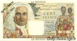100 Francs La Bourdonnais ÎLE DE LA RÉUNION  1960 P.49s SPL