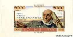 5000 Francs Schoelcher ÎLE DE LA RÉUNION  1960 P. NEUF