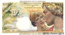 1000 Francs Union Française ÎLE DE LA RÉUNION  1964 P.52s NEUF