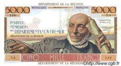 5000 Francs Schoelcher ÎLE DE LA RÉUNION  1964 P.53 SUP+