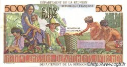 5000 Francs Schoelcher ÎLE DE LA RÉUNION  1964 P.53s SUP+