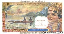 20 NF sur 1000 Francs Union Française ÎLE DE LA RÉUNION  1967 P.55a NEUF