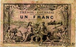 1 Franc ÎLE DE LA RÉUNION  1879 K.457 B