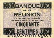 50 Centimes ÎLE DE LA RÉUNION  1943 P.33 NEUF