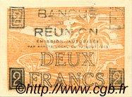 2 Francs ÎLE DE LA RÉUNION  1943 P.35 pr.NEUF