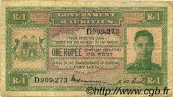 1 Rupee ÎLE MAURICE  1940 P.26 TB+