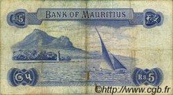5 Rupees ÎLE MAURICE  1967 P.30a pr.TB