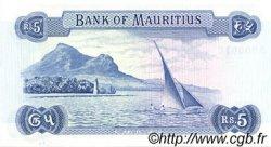 5 Rupees ÎLE MAURICE  1973 P.30c NEUF