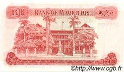 10 Rupees ÎLE MAURICE  1973 P.31c pr.NEUF