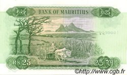 25 Rupees ÎLE MAURICE  1967 P.32a pr.NEUF