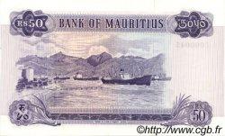 50 Rupees ÎLE MAURICE  1967 P.33a pr.NEUF