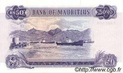 50 Rupees ÎLE MAURICE  1967 P.33b pr.NEUF