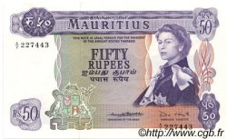 50 Rupees ÎLE MAURICE  1967 P.33b SPL