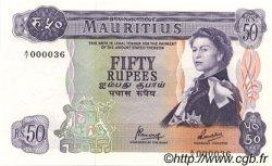 50 Rupees ÎLE MAURICE  1973 P.33c pr.NEUF