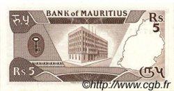 5 Rupees ÎLE MAURICE  1985 P.34 pr.NEUF