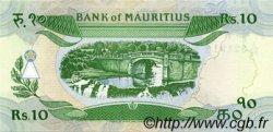 10 Rupees ÎLE MAURICE  1985 P.35c NEUF