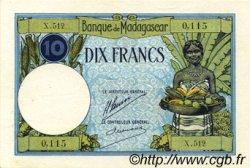 10 Francs MADAGASCAR  1926 P.36 SUP