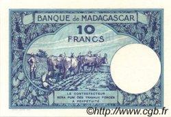 10 Francs MADAGASCAR  1947 P.36s NEUF