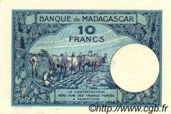10 Francs MADAGASCAR  1957 P.36s NEUF