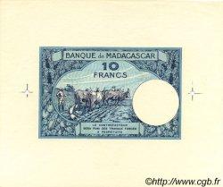10 Francs MADAGASCAR  1957 P.36 SPL