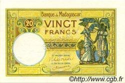 20 Francs MADAGASCAR  1948 P.37s pr.NEUF