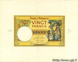 20 Francs MADAGASCAR  1948 P.37 SPL