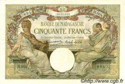 50 Francs MADAGASCAR  1948 P.38 SUP