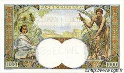 1000 Francs MADAGASCAR  1933 P.41s pr.NEUF