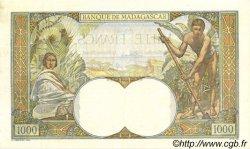 1000 Francs MADAGASCAR  1947 P.41 SUP