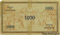 1000 Francs MADAGASCAR  1941 P.43 TB