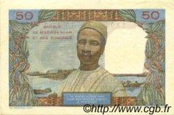 50 Francs MADAGASCAR  1950 P.45a SUP