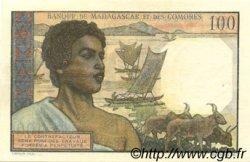 100 Francs MADAGASCAR  1950 P.46a SUP+