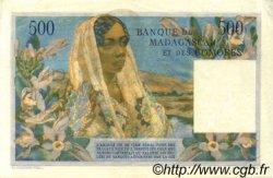 500 Francs MADAGASCAR  1954 P.47b SUP