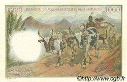 1000 Francs MADAGASCAR  1950 P.48a SPL