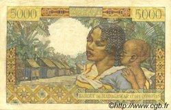 5000 Francs MADAGASCAR  1950 P.49a TTB