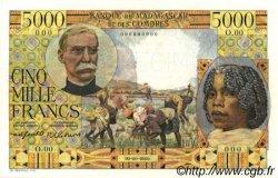 5000 Francs MADAGASCAR  1955 P.49b NEUF