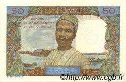 50 Francs - 10 Ariary MADAGASCAR  1961 P.51bs pr.NEUF