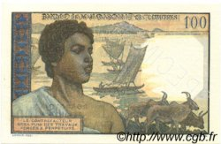 100 Francs - 20 Ariary MADAGASCAR  1961 P.52 NEUF