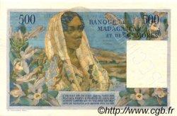 500 Francs - 100 Ariary MADAGASCAR  1961 P.53s NEUF