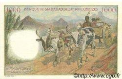 1000 Francs - 200 Ariary MADAGASCAR  1961 P.54s NEUF