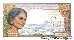 500 Francs - 100 Ariary MADAGASCAR  1964 P.58 NEUF