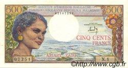 500 Francs - 100 Ariary MADAGASCAR  1964 P.58 pr.NEUF